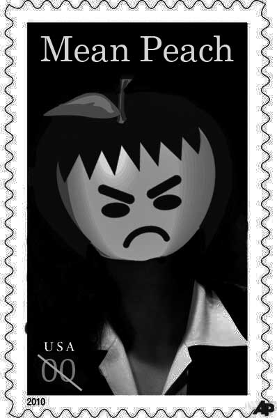 "Unveiling, the new ""She's Just Not Mean"" stamp."